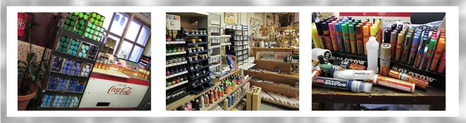 Complete line of professional pens and drawing instruments: pens, pastels, soft pastels and oil pastels, charcoal, fountain pens and makers, rulers and technical drawing instruments, supports for acrylic and oil paints